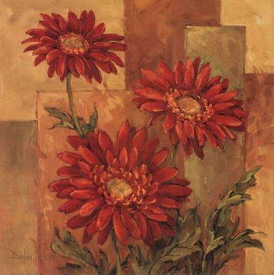 Daisies Terra Cotta by Barbara Mock