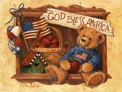 God Bless America Teddy by Barbara Mock