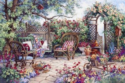 Grandmothers Flower Garden by Barbara Mock