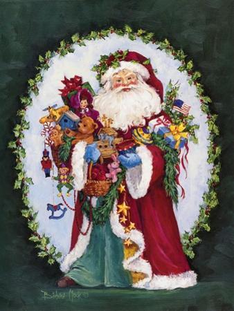 Jolly Saint Nick by Barbara Mock