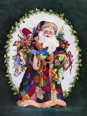 Patchwork Santa by Barbara Mock