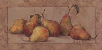 Pear Fresco by Barbara Mock