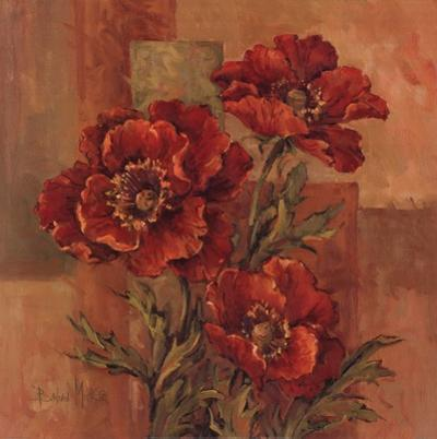 Poppies Terra Cotta by Barbara Mock