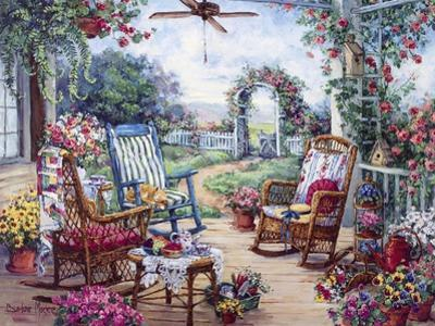 Tea Party by Barbara Mock