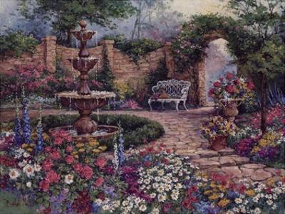 Tranquil Garden by Barbara Mock