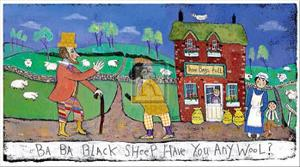 Ba, Ba, Black Sheep by Barbara Olsen