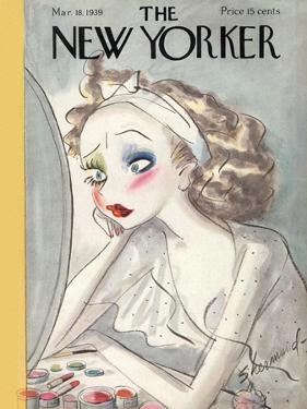 The New Yorker Cover - March 18, 1939 by Barbara Shermund