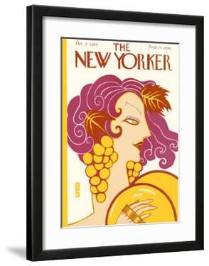 The New Yorker Cover - October 3, 1925 by Barbara Shermund