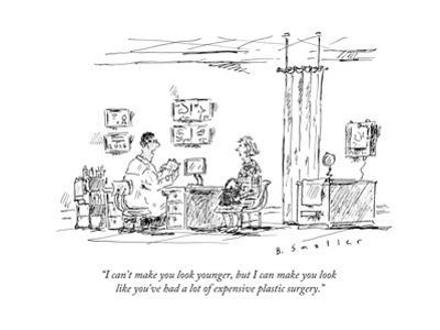 """""""I can't make you look younger, but I can make you look like you've had a ..."""" - New Yorker Cartoon"""