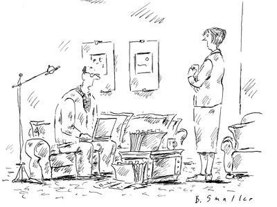 """""""If we take a late retirement and an early death, we'll just squeak by."""" - New Yorker Cartoon"""