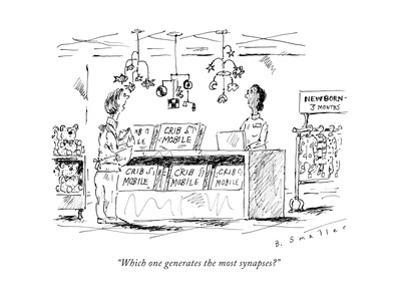 """""""Which one generates the most synapses?"""" - New Yorker Cartoon"""