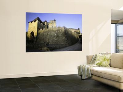 Fortified Castle Walls of Beynac by Barbara Van Zanten
