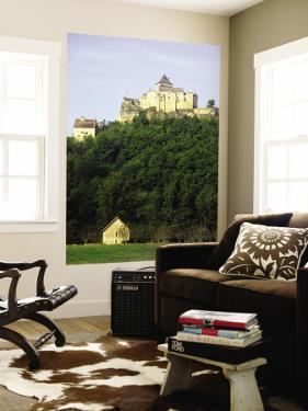 Keep and Castle Walls of the Fortified Chateau De Castelnaud by Barbara Van Zanten