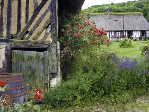 Thatched, Half-Timbered Cottages and Overgrown Gardens in the Marais Vernier Region by Barbara Van Zanten