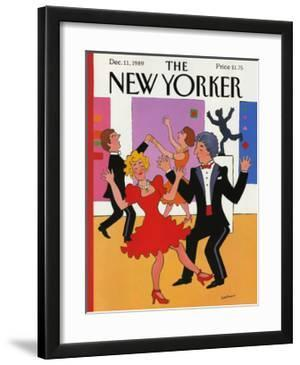 The New Yorker Cover - December 11, 1989 by Barbara Westman