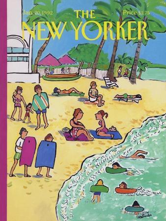 The New Yorker Cover - January 20, 1992