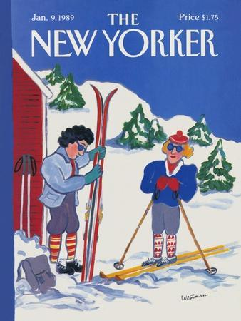 The New Yorker Cover - January 9, 1989