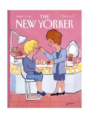 The New Yorker Cover - June 11, 1990