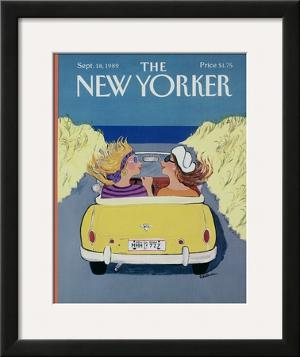The New Yorker Cover - September 18, 1989 by Barbara Westman