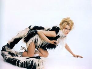 BARBARELLA, 1967 directed by ROGER VADIM Jane Fonda (photo)