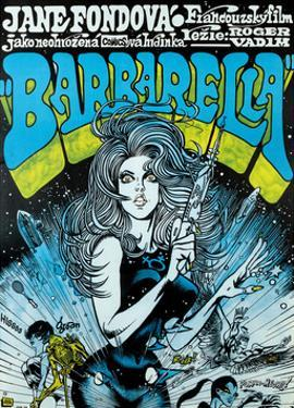 Barbarella - Movie Poster Reproduction