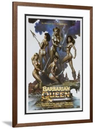 Barbarian Queen--Framed Poster