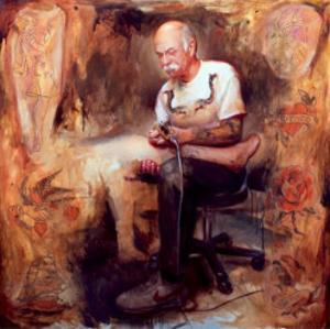 Chuck Eldridge by Barber Shawn