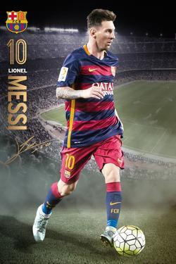 Barcelona Messi Action 15 16