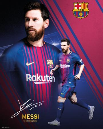 Barcelona - Messi Collage 17/18