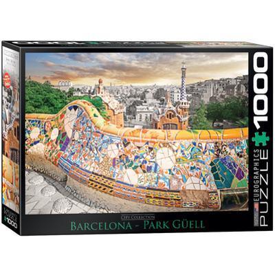 Barcelona Park Güell 1000 Piece Puzzle
