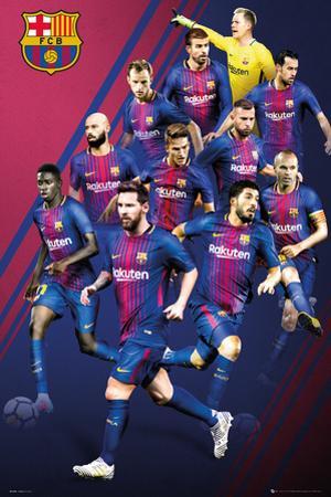 Barcelona - Players 2017-2018