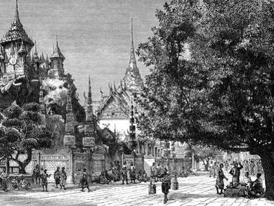 Bangkok, Siam, 19th Century by Barclay