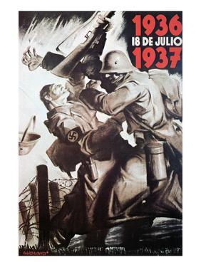 The 18th of July 1936-1937 by Bardasano