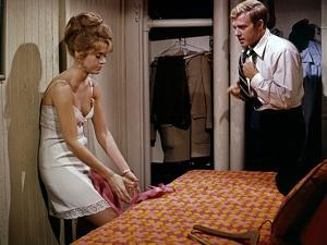 BAREFOOT IN THE PARK, 1967 directed by GENE SACHS Jane Fonda and Robert Redford (photo)