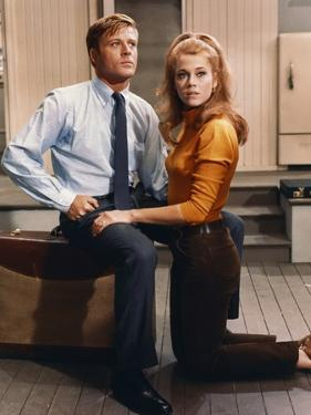 BAREFOOT IN THE PARK, 1967 directed by GENE SACHS Robert Redford and Jane Fonda (photo)
