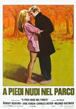 Barefoot in the Park, Italian Movie Poster, 1967