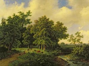 Landscape by Barend Cornelis Koekkoek