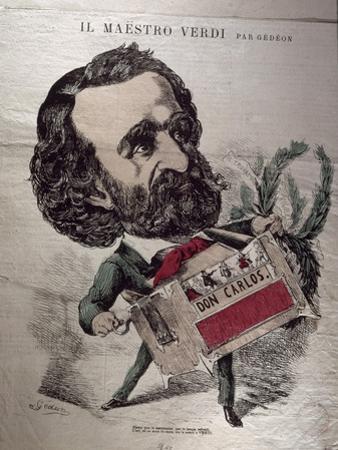 Il Maestro Verdi', Caricature of the Italian Composer Giuseppe Verdi