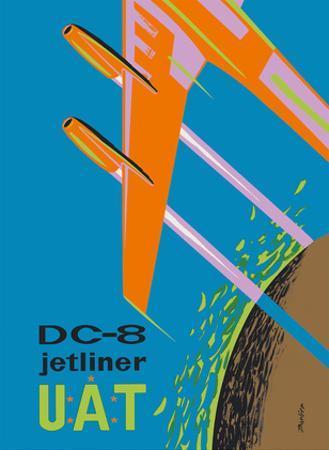 Douglas DC-8 Jetliner - UAT (Union Aéromaritime de Transport) by Barlier