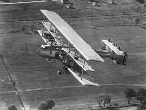 Barling Bomber Triplane in Flight