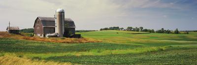 Barn in a field, Wisconsin, USA