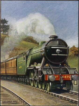 """The London and North Eastern Railway's """"Flying Scotsman"""" Express"""