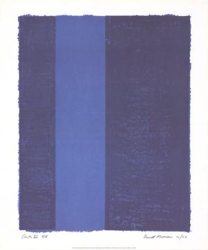 Canto VII by Barnett Newman