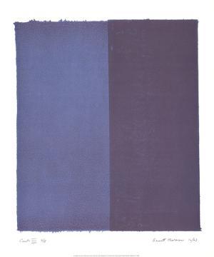 Canto VIII by Barnett Newman