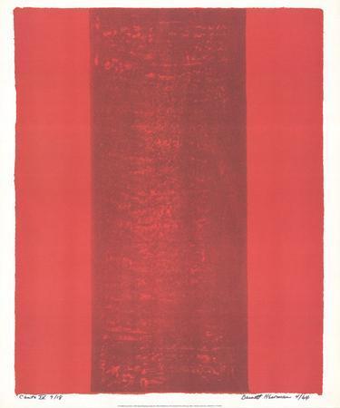 Canto XV by Barnett Newman