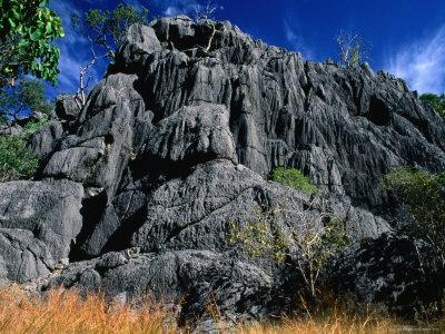 Limestone Bluff at Archways, Near Mungana Chillagoe, Queensland, Australia