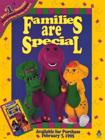 Barney: Families Are Special