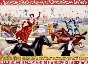 Barnum and Bailey, Groesste Schaustellung Der Welt