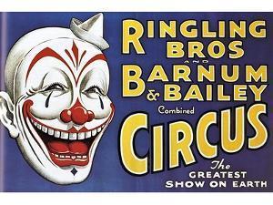 Barnum and Bailey's Circus, USA
