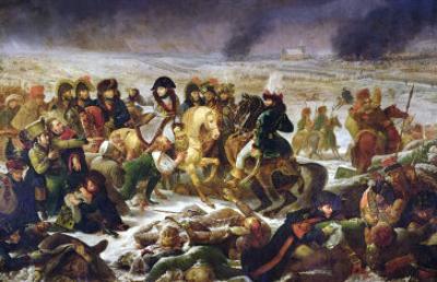 Napoleon on the Battle Field of Eylau, 9th February 1807, 1808